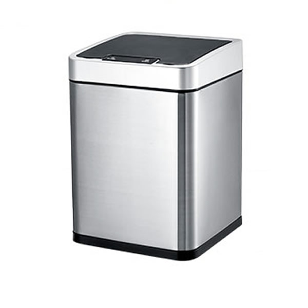 Rectangular Touchless Sensor Induction Trash Can
