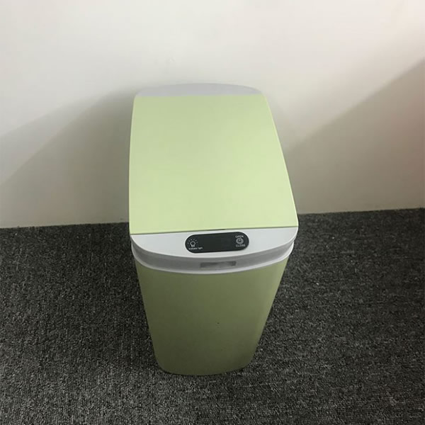 Touchless Plstic Rubbish Trash Can