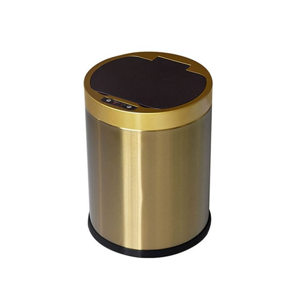 Touchless Stainless Steel Trash Can